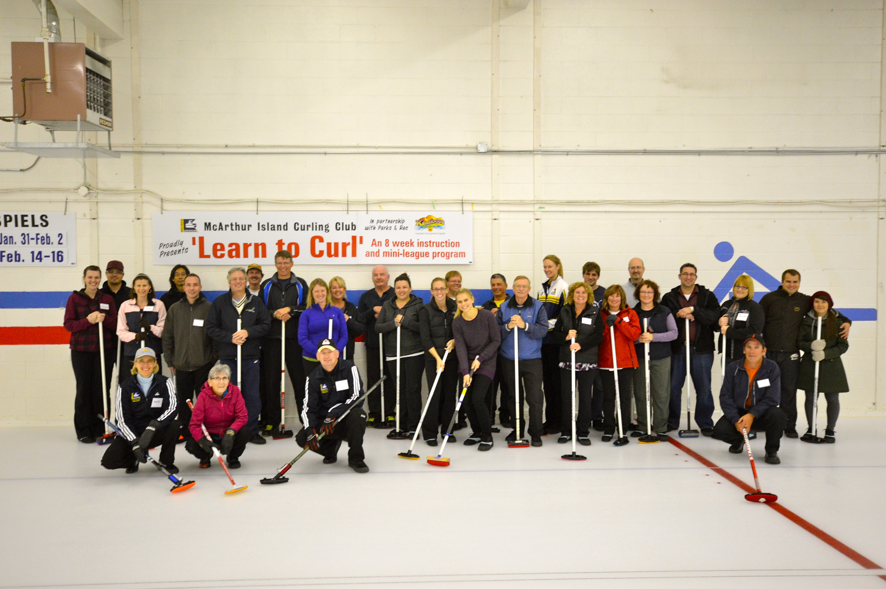 FALL 2013 LEARN TO CURL IS A MASSIVE SUCCESS!!!