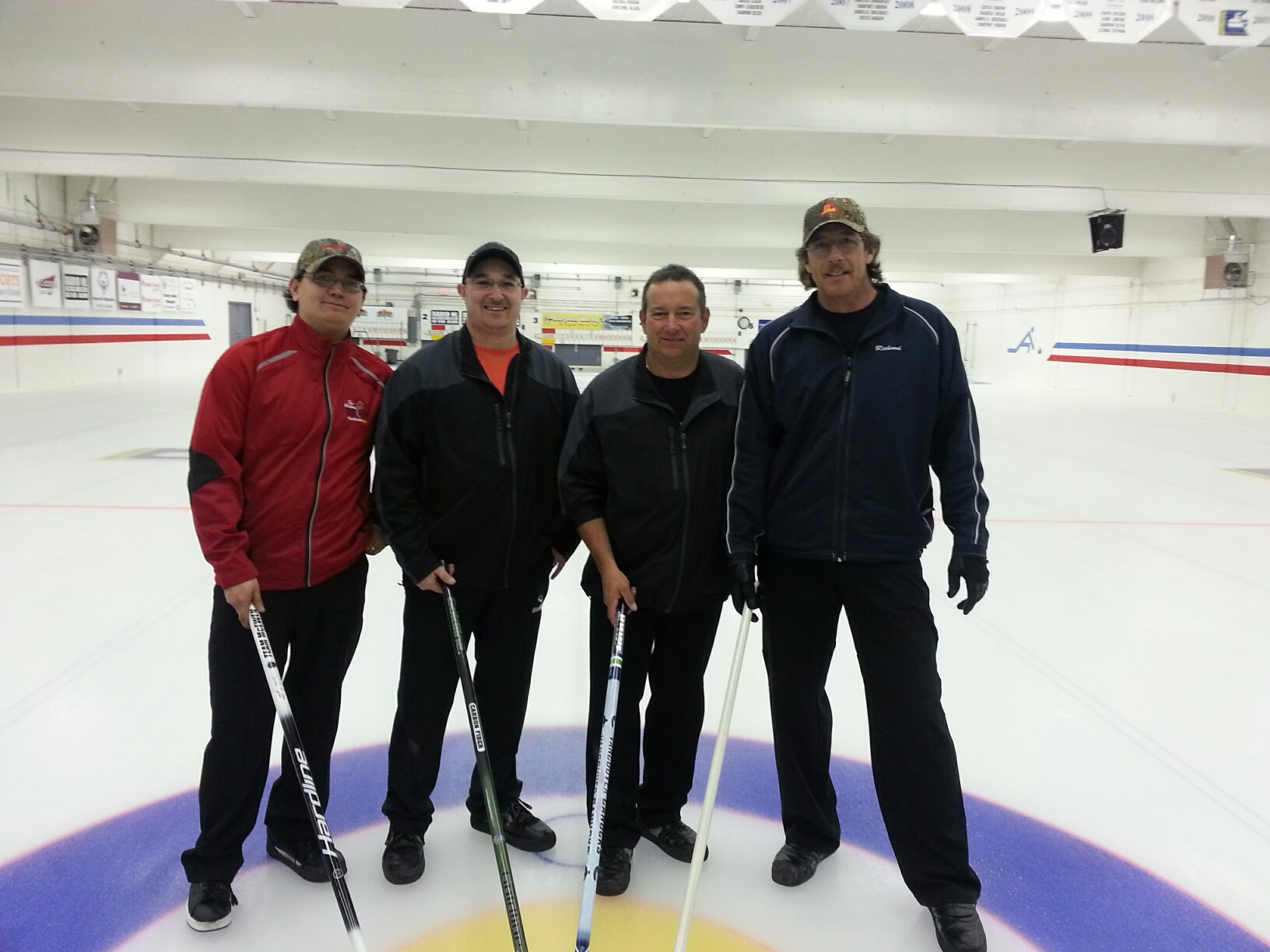2014-2015 Men's League Champions – Debert Rink!!