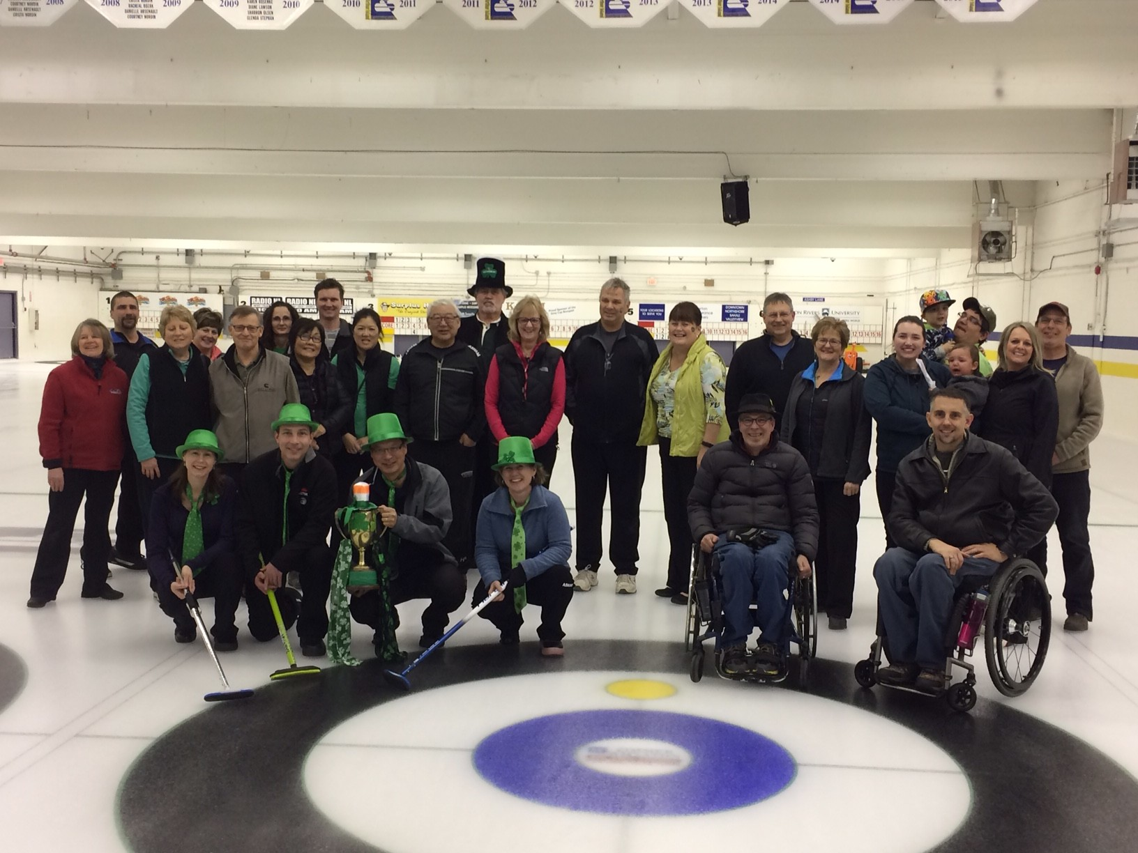 ST PATTYS DAY BONSPIEL WAS A SUCCESS!